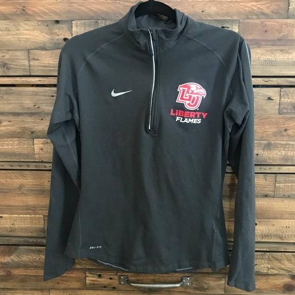 add3da49 Liberty University Nike Dri-Fit Pullover. M_5b86e4fbbf7729154cc0d581